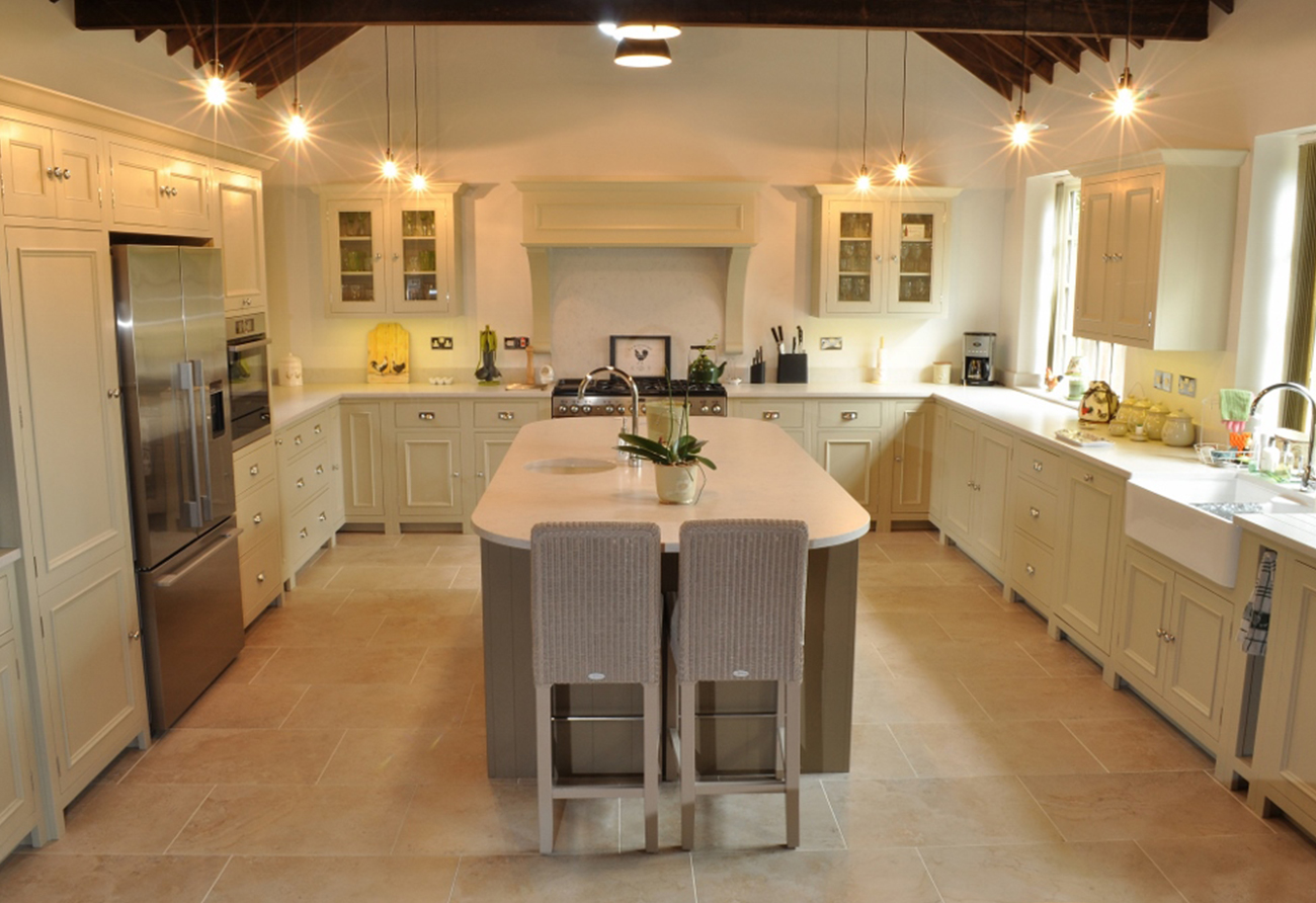 Barn Conversion Country Kitchen Hertfordshire