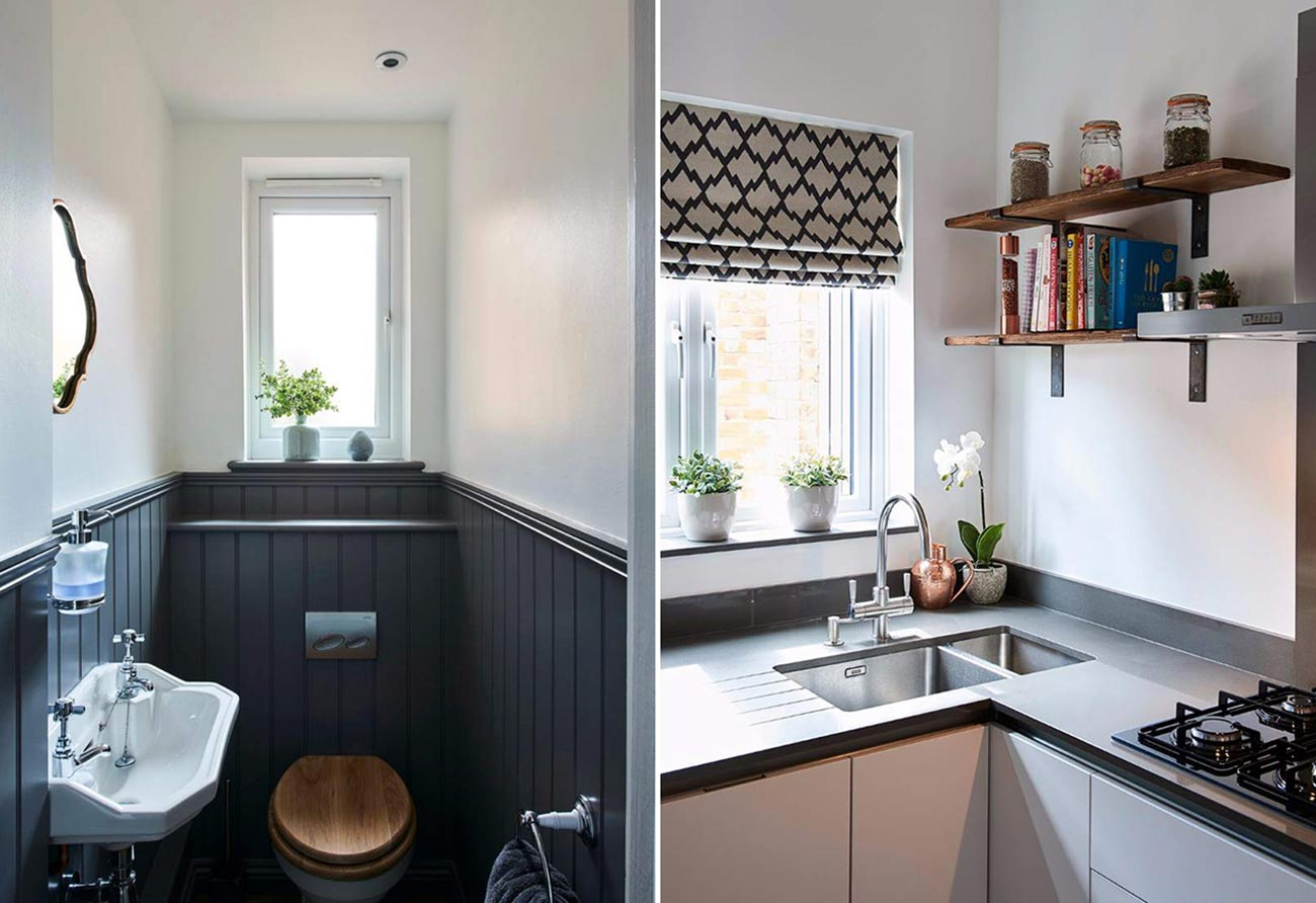 panelling-cloakroom-modern-kitchen
