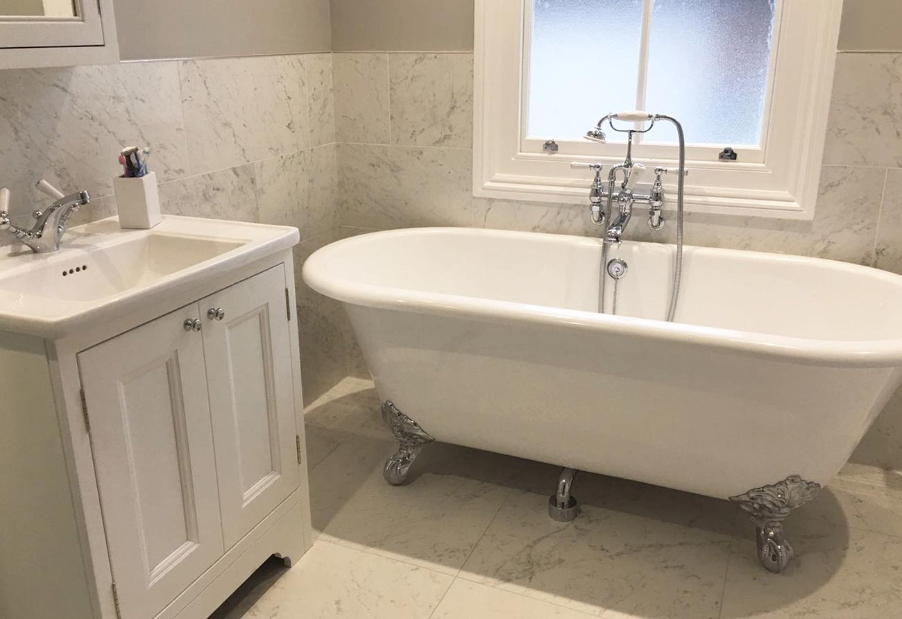 Traditional-Marble-Bathroom-3 & Traditional Marble Bathroom \u2013 Hawk K\u0026B