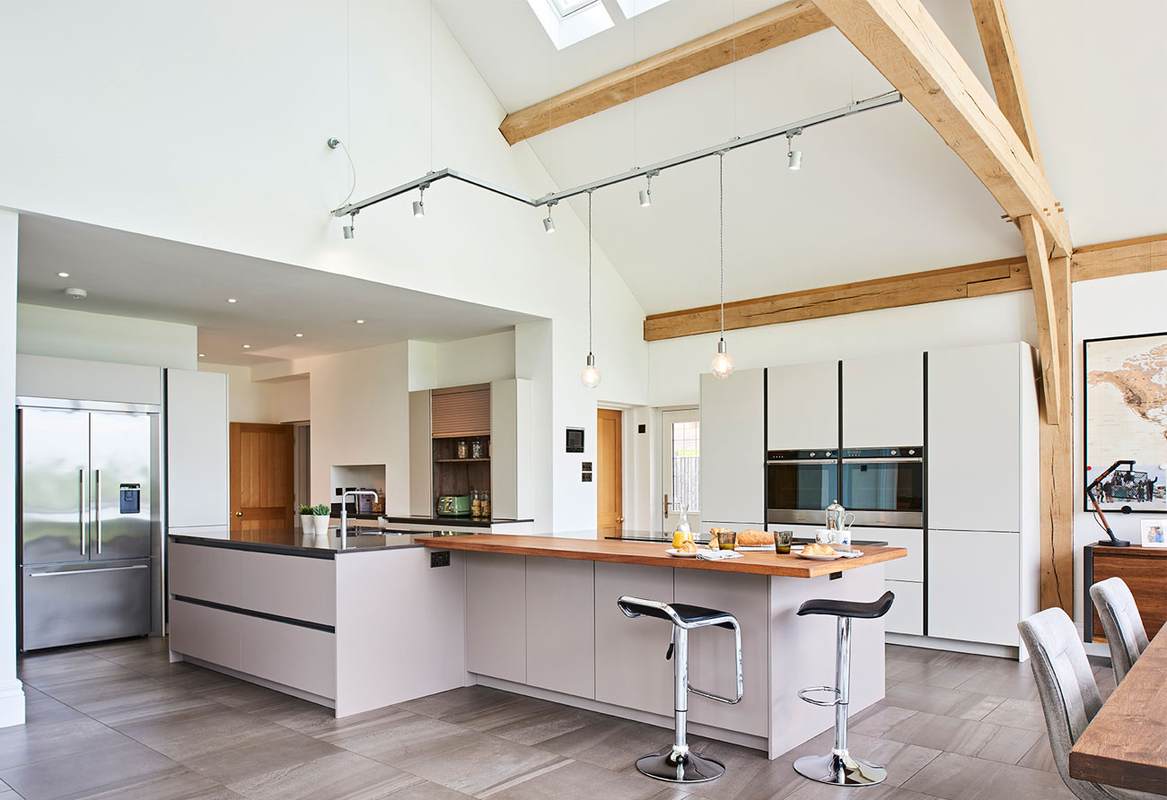 Double Height Contemporary Kitchen Hawk K Amp B